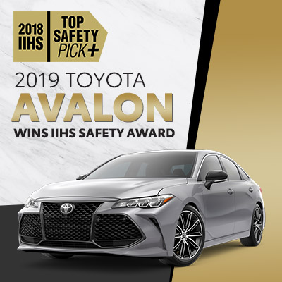 toyota avalon safety